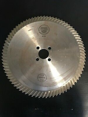 "NEW OHLER 16"" X 80 TOOTH SEGMENTAL COLD SAW BLADE 50MM BORE 4 PINHOLES M2 STEEL"