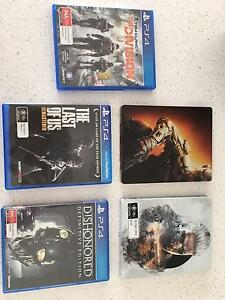 PS4 Games for sale! Tweed Heads Tweed Heads Area Preview