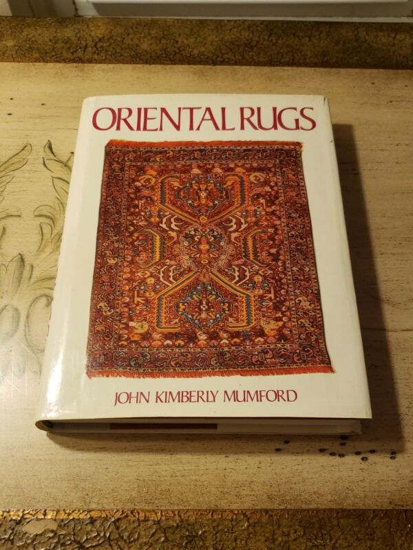 Antique Oriental Rugs - Mumford Design Persia Rug Weavings  Book 1981 HC DJ