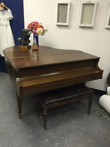 Parlour Grand Piano and bench