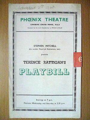 1948 Phoenix Theatre Programme- Terence Rattigan's Playbill by Stephen Mitchell