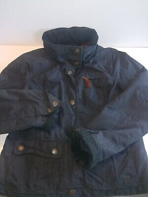 Abercrombie & Fitch Womens Medium British Millerain Waxed Cotton Utility Jacket