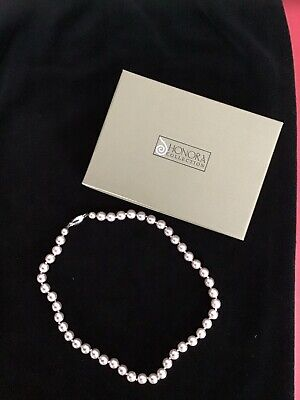 Honora Pearl Necklace NWOT With Box