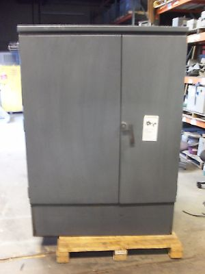 Square D 225kva Transformer 4160v-208v120v 3 Phase Delta Wye Oil Filled 4.16y