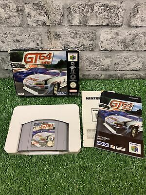 GT 64 Championship edition with instructions Nintendo N64 Game UK PAL GT 64