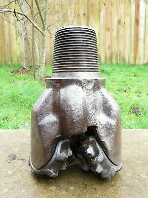 Antique 73lbs Howard Hughes Tool Company Tricone Roller Oil Well Rock Drill Bit