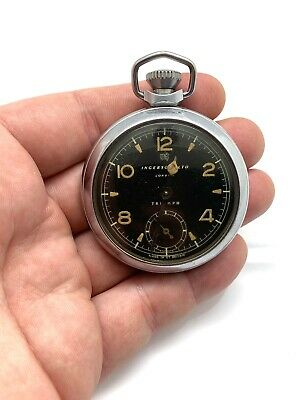 Very Nice Vintage Ingersoll LTD Gents Manual Wind Pocket Watch Working #700