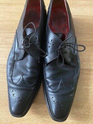 Men's Jeffrey West shoes black size 10UK