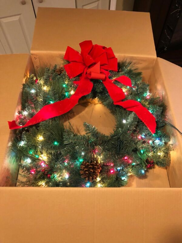 """Frontgate Holiday Collection Christmas Classic WREATH 30"""""""