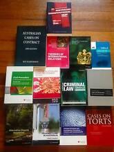 Law Texbooks Selling Cheap Thornbury Darebin Area Preview