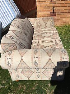 2 seater lounge and 2 inner Spring mattresses Airds Campbelltown Area Preview