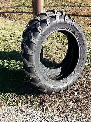 One 8.3x248.3-24 Cub Farmall Six Ply Tractor Tire With Tube
