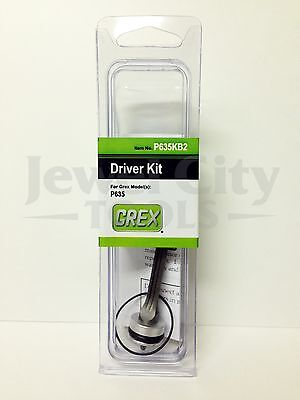 Brand New Grex Replacement Driver Kit P635 - Part # P635KB2