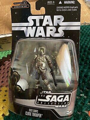 Star Wars 2006 Saga Collection Elite Corps Clone Trooper Brand New