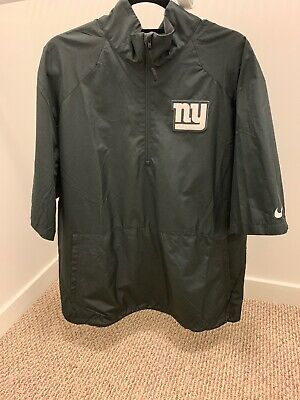 New York Giants Nike Half Zip Black NFL On Field Apparel