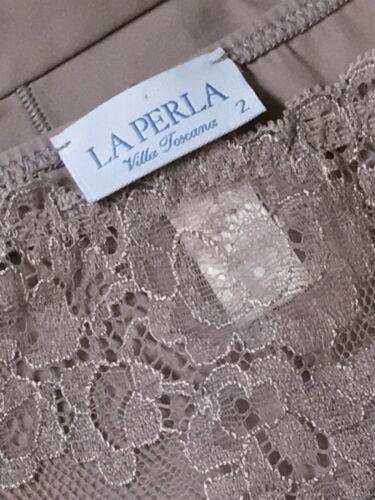 NWOT Amazing La Perla Villa Toscana Muted Lavender Microfiber & Lace Bikini S