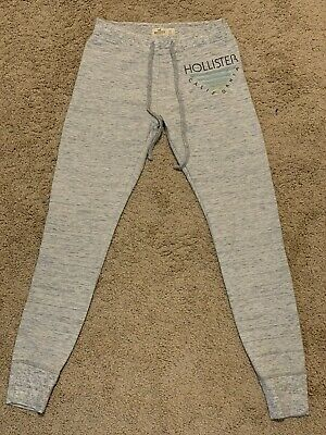 Hollister XS Heather Grey Skinny Fleece Joggers