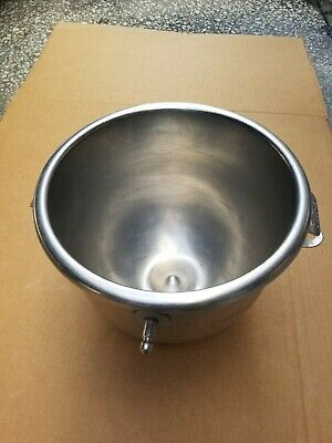 Oem Hobart A200-12 12 Qt Stainless Steel Mixer Reducer Bowl For 20 Qt Mixer Exc