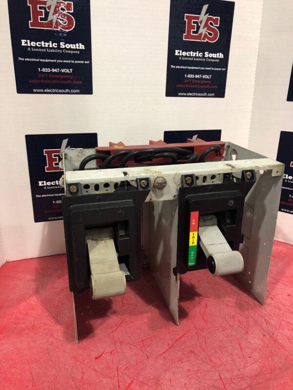 "Eaton Cutler Hammer 2100 MCC Dual Feeder Bucket 12"" W/ HFD 100 Amp"