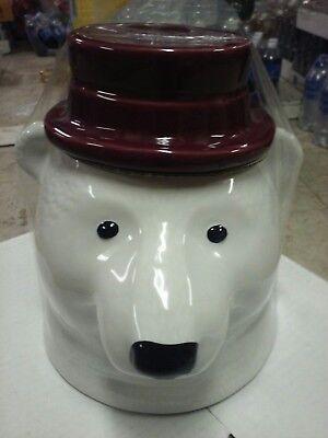 Threshold Polar Bear 75oz Cookie Jar Brand New