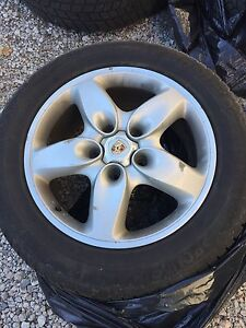 Cayenne / Audi Q7 Winter Rims and Tires 235 60 18