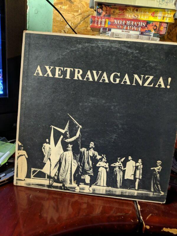 Axetravaganza! Lp, Univ. Of California Berkeley Axe Revue 1961, See Pics