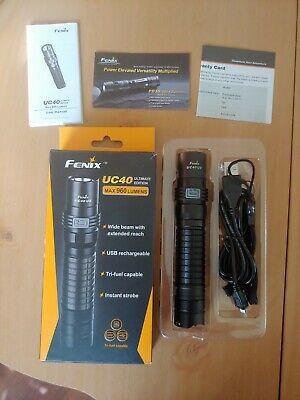 Fenix UC40 UE CREE XM-L2 U2 960 Lumen Rechargeable LED Flashlight