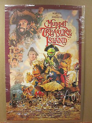 Vintage 1996 The Muppet Show poster muppet characters 6706