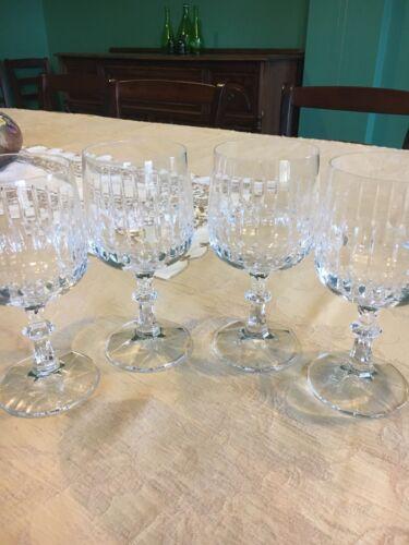 Set of 2 Schott-Zwiesel Crystal Water Wine Goblets Tango Pattern 6 3//4/'/' Tall