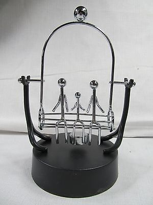 Promotional Kinetic Art Perpetual Motion Mobile Office Desk Toy sweat family for sale  Shipping to India