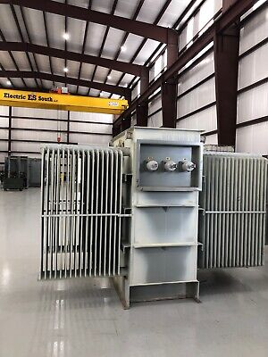 Balteau Substation Transformer 2500 3500 Kva 13200 Delta Primary 480y277