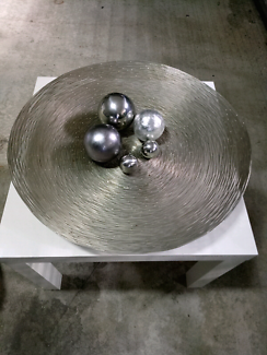 Large Silver Decor