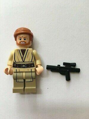 STAR WARS LEGO MINI FIGURE AUTHENTIC OBI WAN KENOBI 75040 SET GENERAL GRIEVOUS@