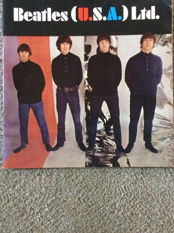 LOOK! 1966 VINTAGE BEATLES USA LTD. ORIGINAL PROMOTIONAL TOUR PROGRAM!