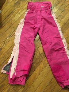 Girls waterproof pants. Size 10/12