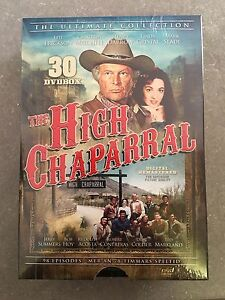 HIGH CHAPARRAL  - THE ULTIMATE COLLECTION 1 2 3 & 4  -  DVD - PAL Region 2 - New