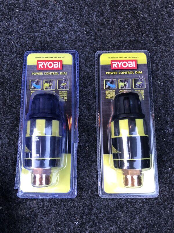 (2) Ryobi Pressure Washer Flow Control Valve  NEW