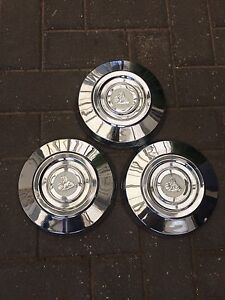 Holden HR and HD hubcaps x 3. Henley Beach Charles Sturt Area Preview