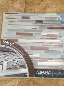 28 peel and stick mosaic wall tiles
