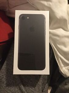 Brand new in the box still plastic sealed iPhone 7