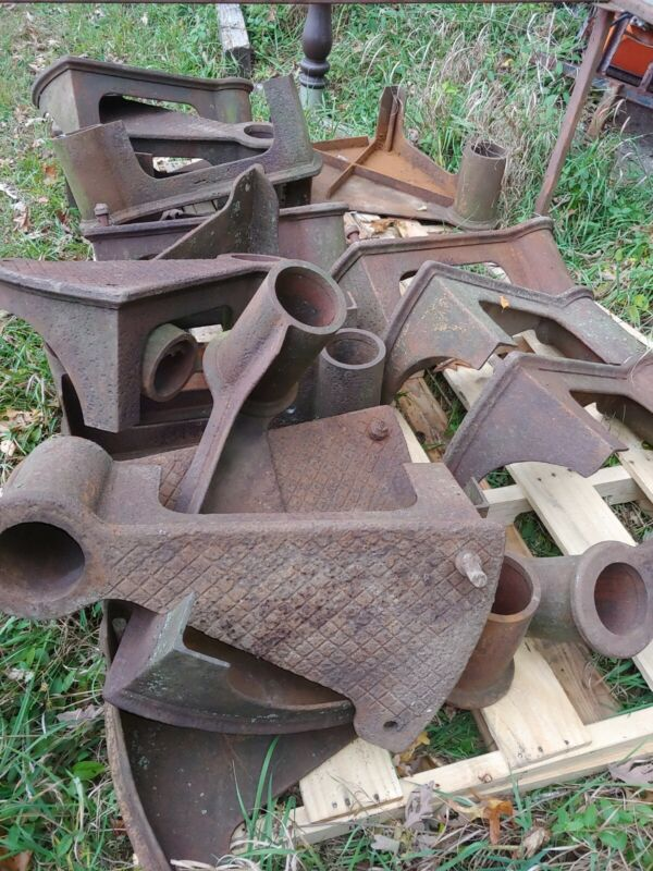 Antique Industrial cast Iron Spiral Staircase