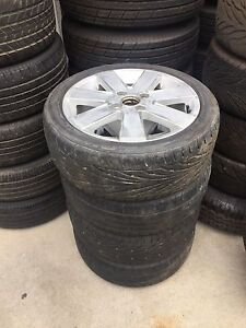 Wheels and tyres Clontarf Redcliffe Area Preview