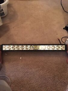 30 inch light bar with harness