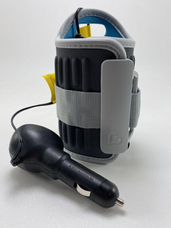 Munchkin Travel Car Vehicle Baby Bottle Warmer 12V Power Adapter , Gray & Blue