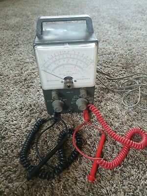 Vintage Heath Kit Vacuum Tube Volt Meter V-7a
