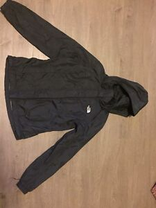 Size medium black the north face rain jacket