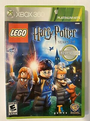 Lego Harry Potter Years 1-4 Xbox 360 game W/Manual