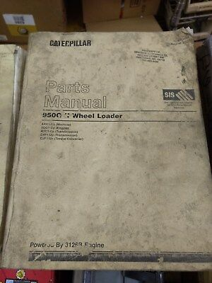 Caterpillar Cat 950g Series Ii 2 Wheel Loader 3126b Engine Parts Manual