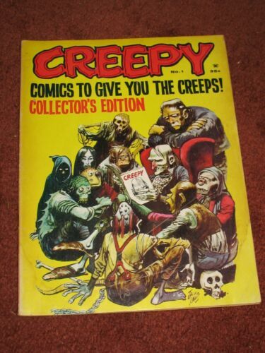 Creepy #1 ~1964 Good Shape ~Frank Frazetta Art ~Warren