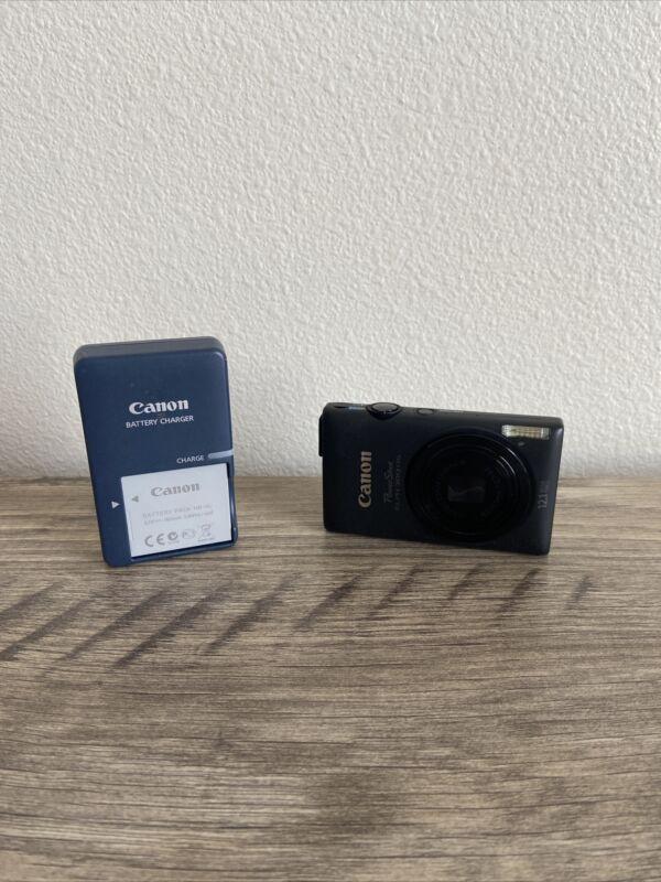 Canon PowerShot ELPH 300 HS / IXUS 220 HS 12.1MP Digital Camera - Black